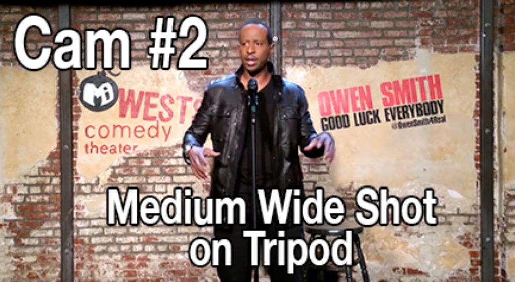 Cam #2 Medium Wide on Tripod